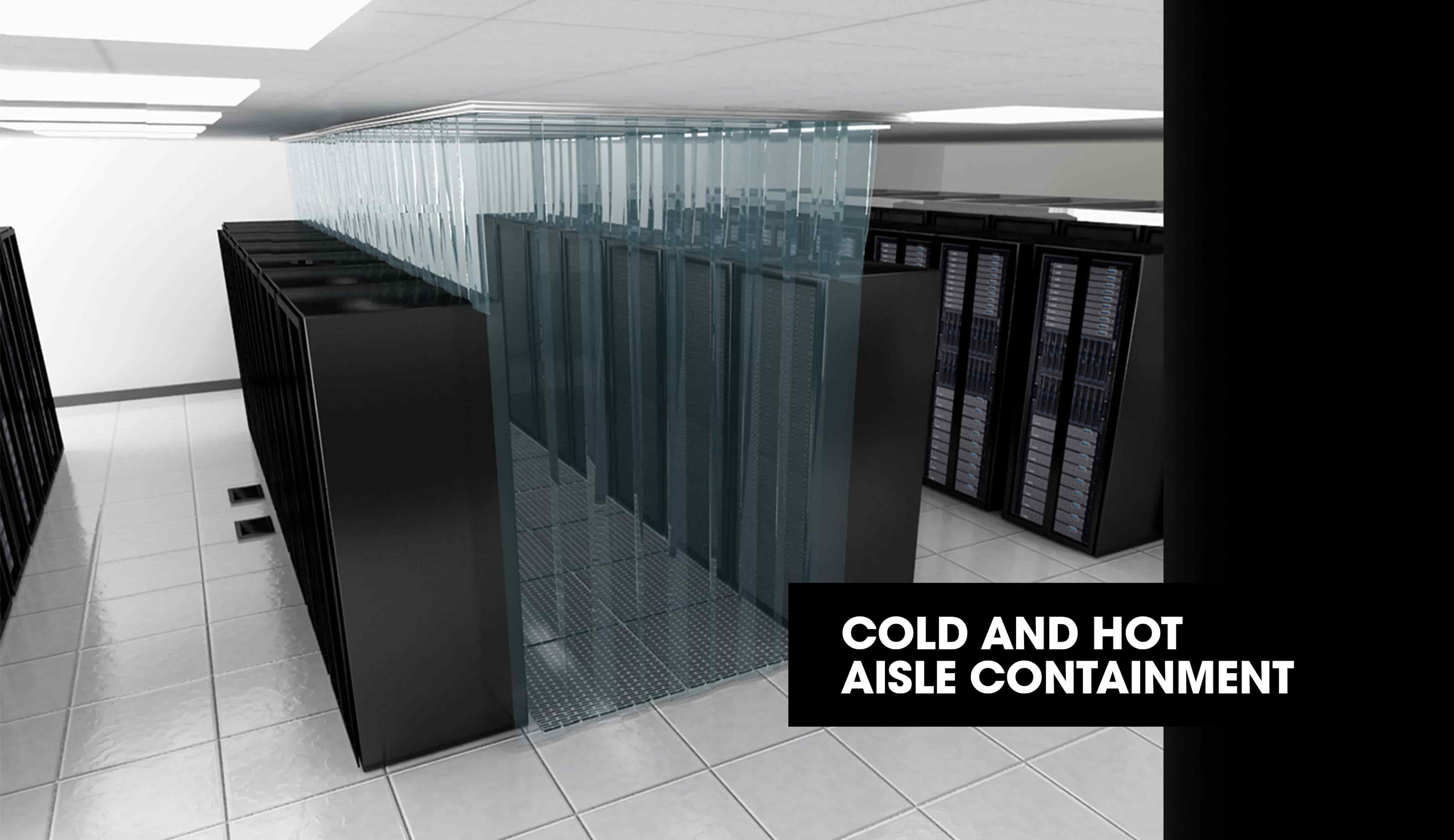 Cold & hot aisle / Data Centre aisle containment in Bangalore